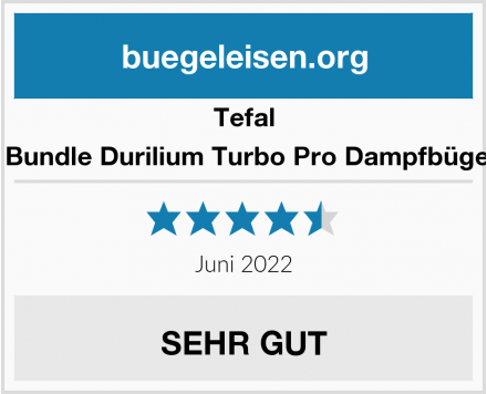 Tefal Mega Bundle Durilium Turbo Pro Dampfbügeleisen Test
