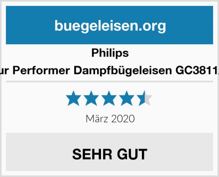 Philips Azur Performer Dampfbügeleisen GC3811/70 Test
