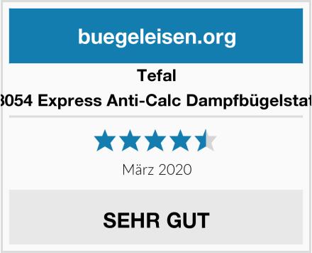 Tefal SV8054 Express Anti-Calc Dampfbügelstation Test