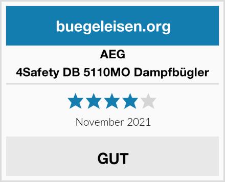 AEG 4Safety DB 5110MO Dampfbügler Test