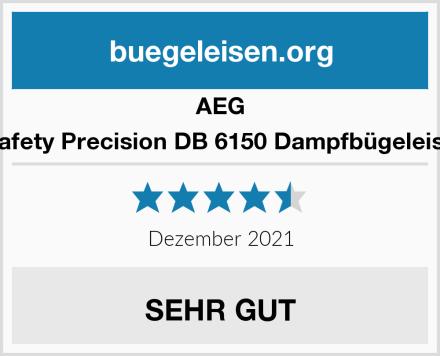 AEG 4Safety Precision DB 6150 Dampfbügeleisen Test