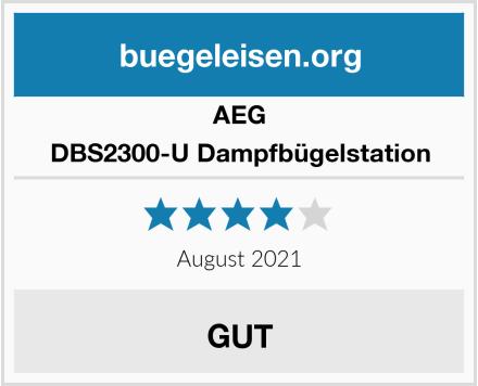 AEG DBS2300-U Dampfbügelstation Test