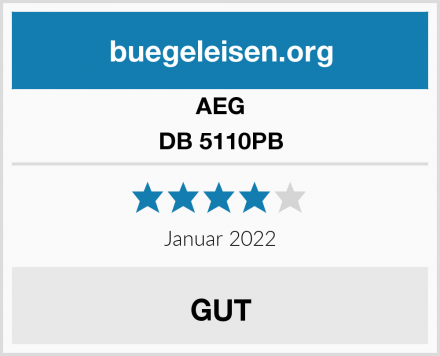 AEG DB 5110PB Test