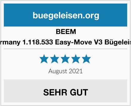 BEEM Germany 1.118.533 Easy-Move V3 Bügeleisen Test