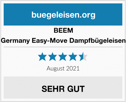 BEEM Germany Easy-Move Dampfbügeleisen Test