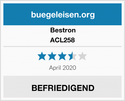 Bestron ACL258 Test