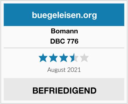 Bomann DBC 776 Test
