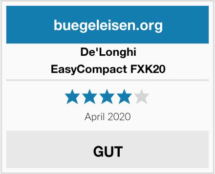De'Longhi EasyCompact FXK20 Test