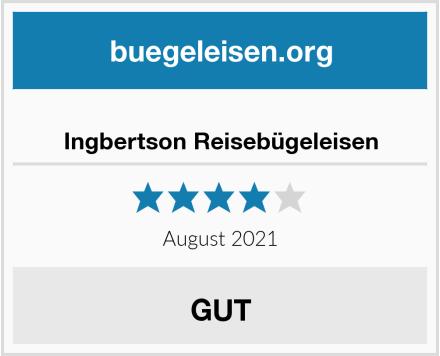 Ingbertson Reisebügeleisen Test
