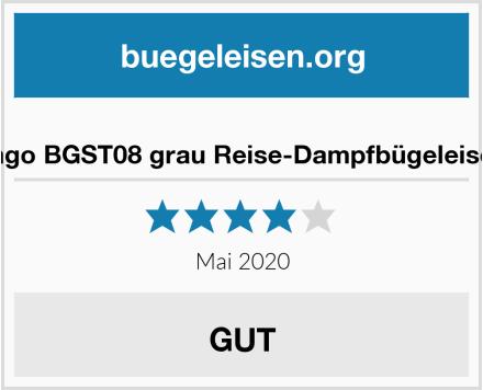 Jago BGST08 grau Reise-Dampfbügeleisen Test