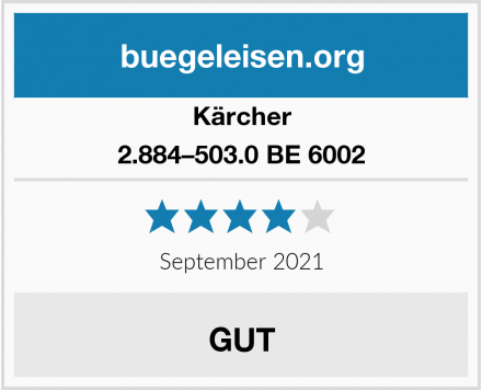 Kärcher 2.884–503.0 BE 6002 Test