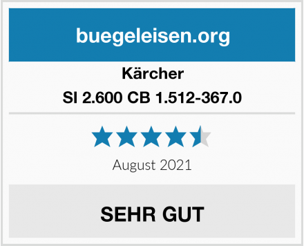 Kärcher SI 2.600 CB 1.512-367.0 Test