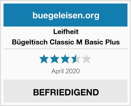 Leifheit Bügeltisch Classic M Basic Plus Test