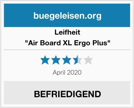"Leifheit ""Air Board XL Ergo Plus"" Test"