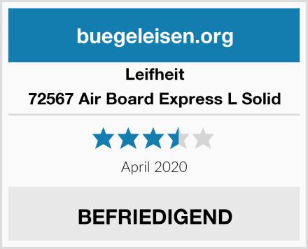 Leifheit 72567 Air Board Express L Solid Test