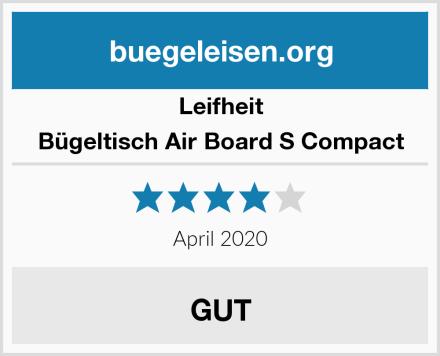 Leifheit Bügeltisch Air Board S Compact Test