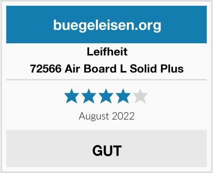 Leifheit 72566 Air Board L Solid Plus Test