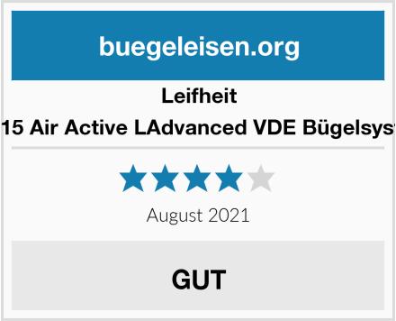 Leifheit 76115 Air Active LAdvanced VDE Bügelsystem Test