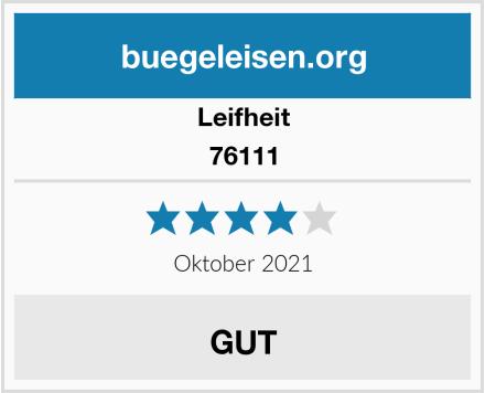 Leifheit 76111 Test