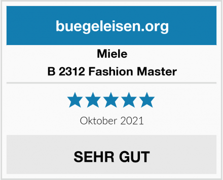 Miele B 2312 Fashion Master Test