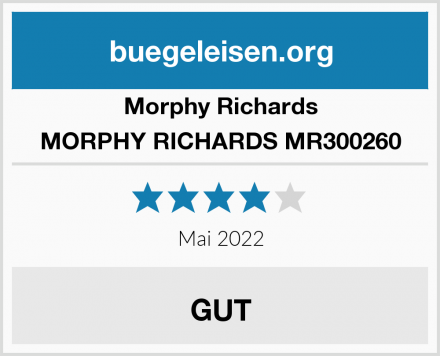 Morphy Richards MORPHY RICHARDS MR300260 Test