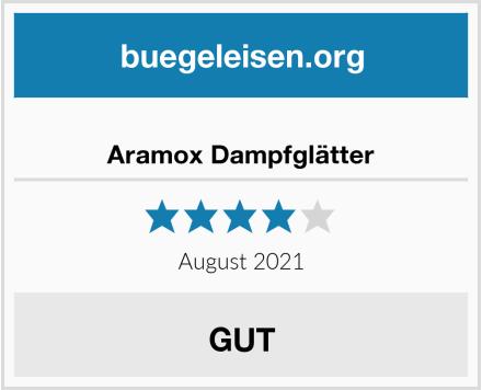 Aramox Dampfglätter Test