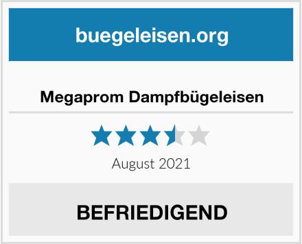 Megaprom Dampfbügeleisen Test
