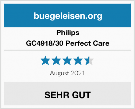 Philips GC4918/30 Perfect Care Test