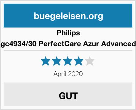 Philips gc4934/30 PerfectCare Azur Advanced Test