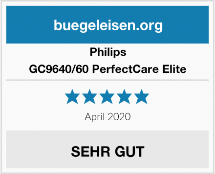 Philips GC9640/60 PerfectCare Elite Test