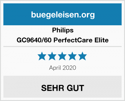 Philips GC9640/60 PerfectCare Elite Test