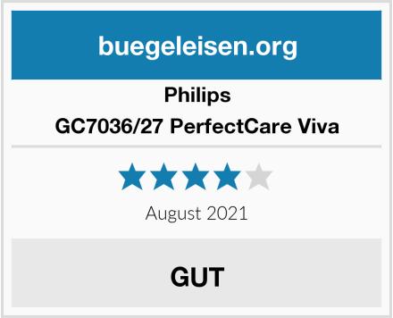 Philips GC7036/27 PerfectCare Viva Test