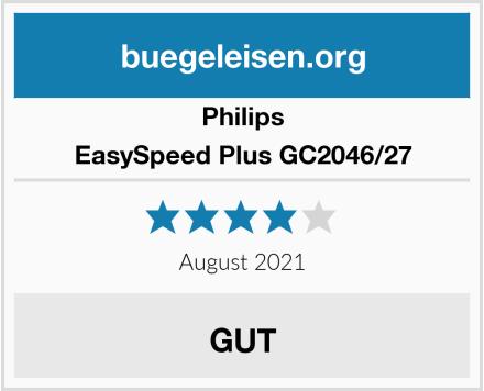 Philips EasySpeed Plus GC2046/27 Test