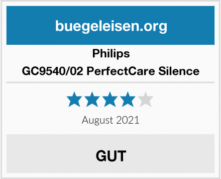 Philips GC9540/02 PerfectCare Silence Test