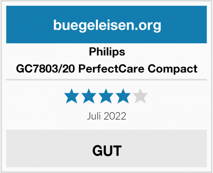 Philips GC7803/20 PerfectCare Compact Test