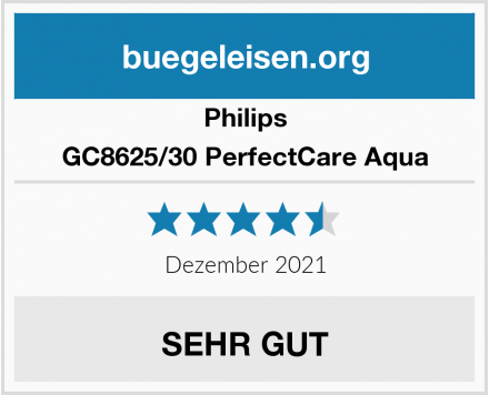 Philips GC8625/30 PerfectCare Aqua Test