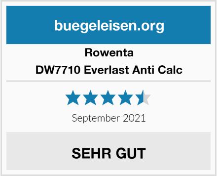 Rowenta DW7710 Everlast Anti Calc Test