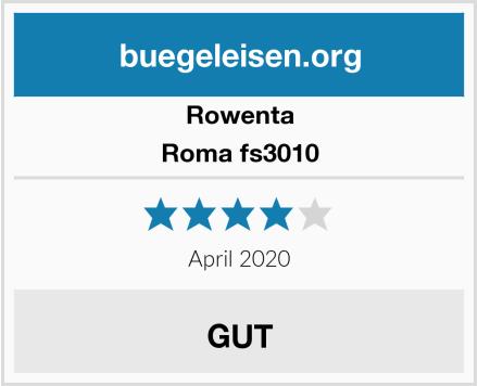 Rowenta Roma fs3010 Test