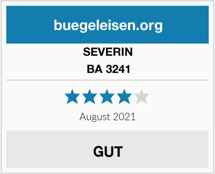 SEVERIN BA 3241 Test