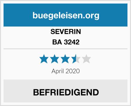SEVERIN BA 3242 Test