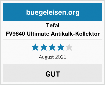 Tefal FV9640 Ultimate Antikalk-Kollektor Test