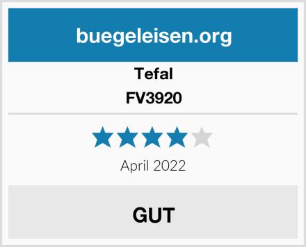 Tefal FV3920 Test
