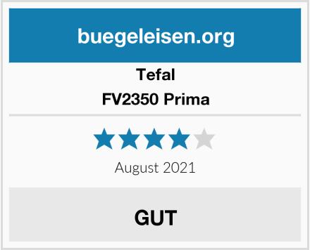 Tefal FV2350 Prima Test