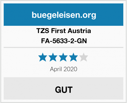 TZS First Austria FA-5633-2-GN Test