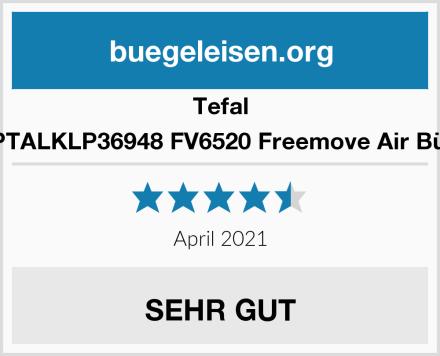 Tefal ASINUKPTALKLP36948 FV6520 Freemove Air Bügeleisen Test