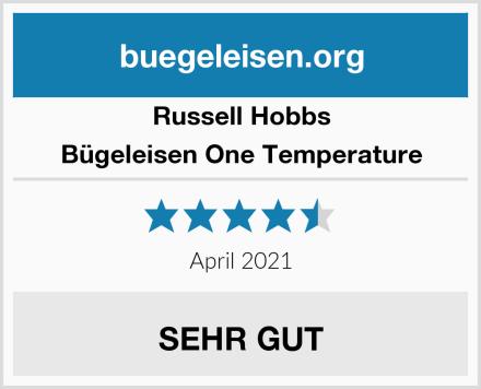 Russell Hobbs Bügeleisen One Temperature Test
