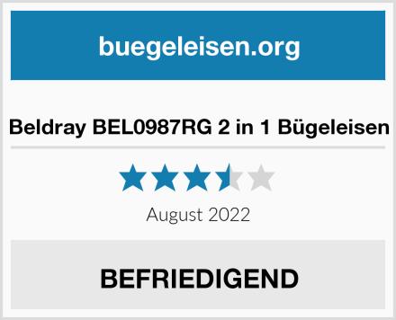 Beldray BEL0987RG 2 in 1 Bügeleisen Test