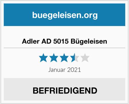 Adler AD 5015 Bügeleisen Test