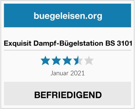 Exquisit Dampf-Bügelstation BS 3101 Test