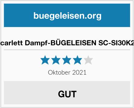 Scarlett Dampf-BÜGELEISEN SC-SI30K26 Test